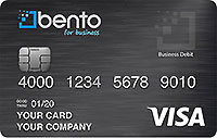 A business Visa debit card from Bento for Business can be an effective alternative to religious credit cards because of their expense management controls and ability to limit spending.
