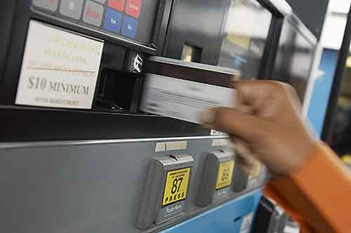 A gas debit card makes managing expenses easy.