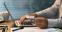 Business Visa card expense management