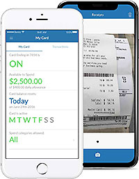 Ghost cards makes managing receipts easier.